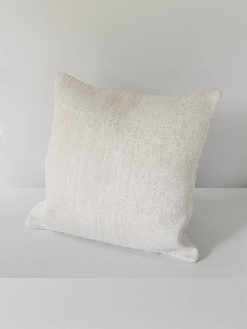 Large Pillow Made with Vintage Hemp
