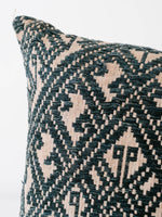 The Arc Vintage Hmong Fabric Pillow in Deep Indigo
