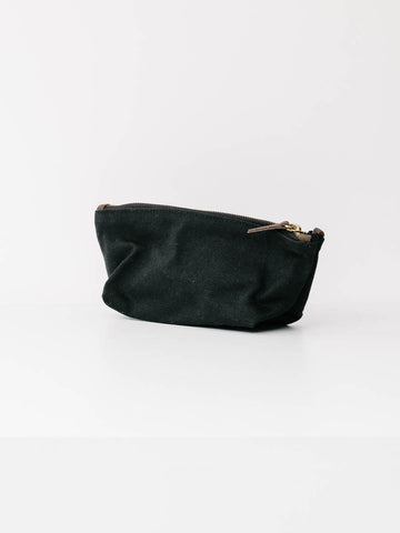 Small Mara Utility Bag in Black Canvas