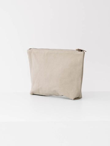 Large Mara Utility Bag in Stone Canvas