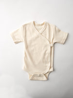 Organic Cotton Short Sleeve Baby Romper By Fog Linen