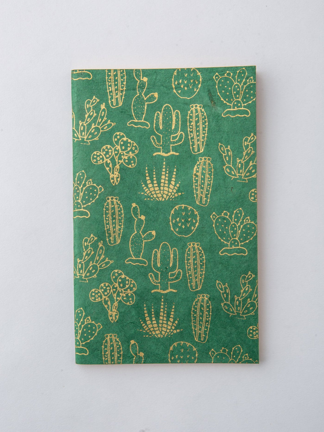 Journal, Cactus in Green and Gold