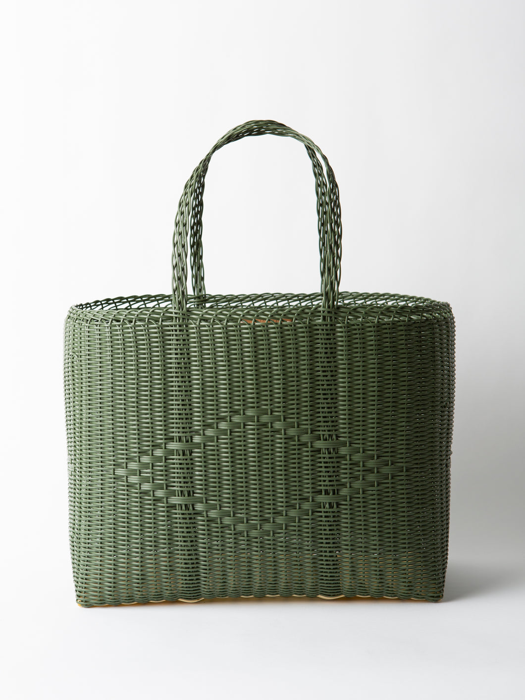 Palorosa Large Tote Basket in Cactus