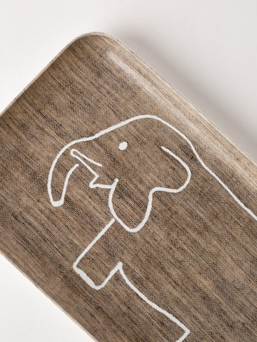 Children's Linen Tray Elephant