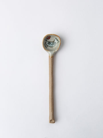 Whimsical Handmade Ceramic Spoons