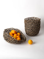 Korean Nutcase Basket In Mixed Color