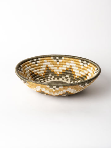 Extra Large Hope Basket in Olive + Dijon