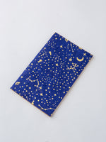 Journal in Indigo and Gold Constellation