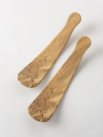 Large Spalted Salad Server