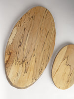 Large Spalted Oval Board