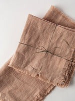 Stonewashed Linen Napkin in Blush