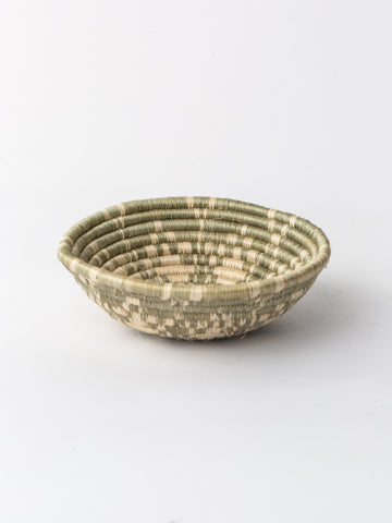 Small Ikaze Basket in Light Taupe