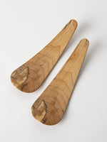 Pair of Spalted Salad Server Small