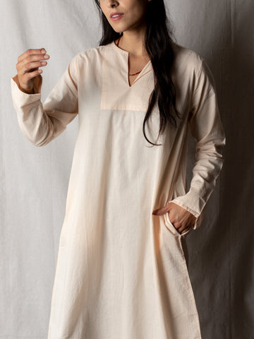 Domi Cotton Tunic in Blush