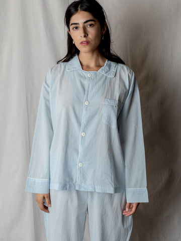 Oversize Pajama Set in Sky