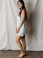 Vintage Pale Blue Pajama Set