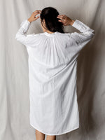 Domi Cotton Tunic in White