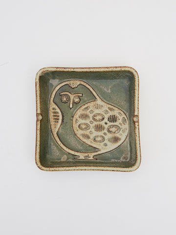 Vintage Owl Ashtray and Catchall