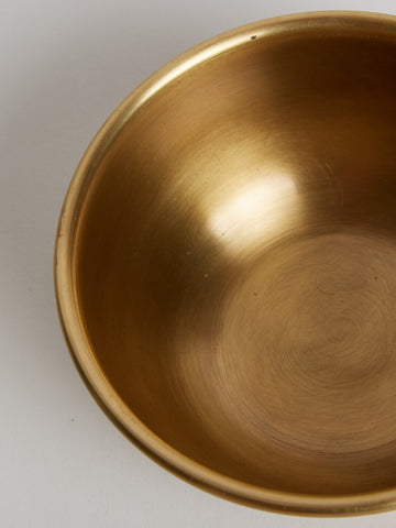 Solid Brass Bowl, Medium