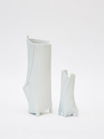 Small White Taper Vase