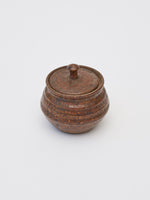 Petite Vintage Ceramic Vessel with Lid