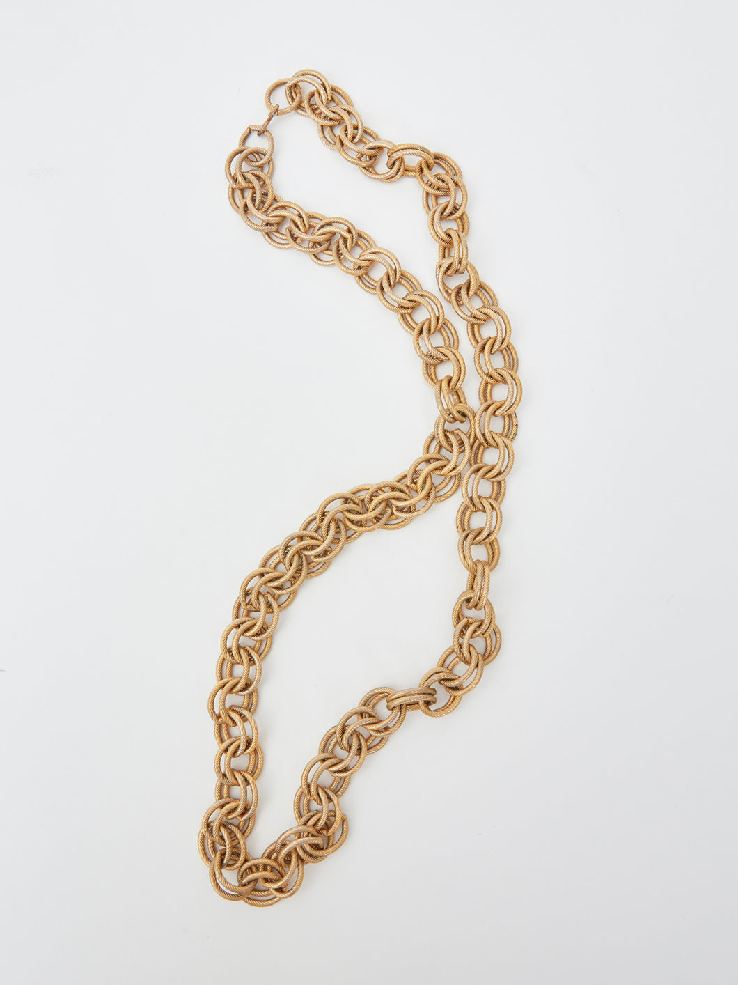 Chunky Gold Chain Necklace