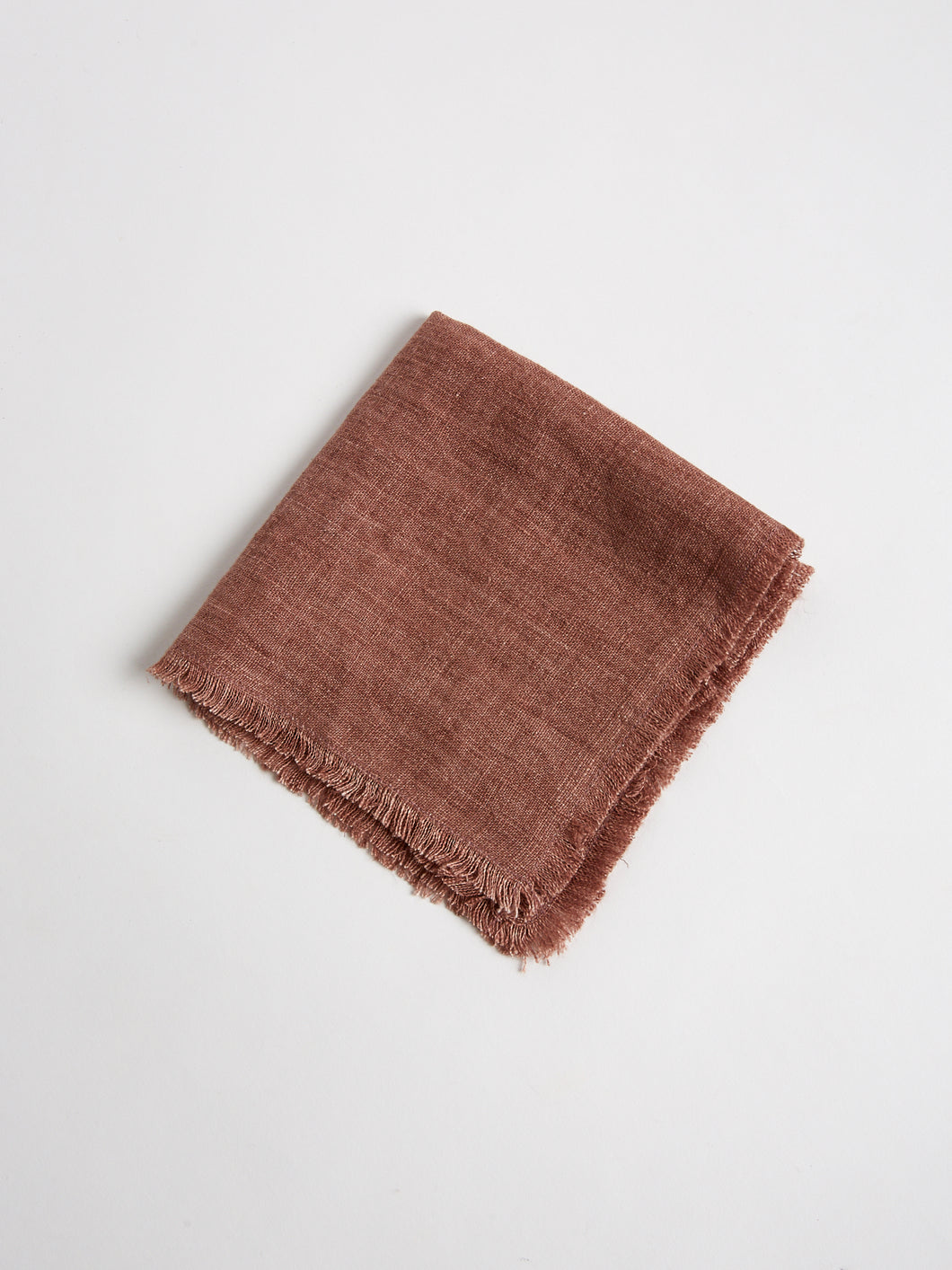 Stonewashed Linen Cocktail Napkin in Ash Rose