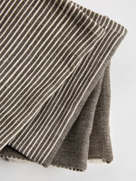Tea Towel in Grey and Natural