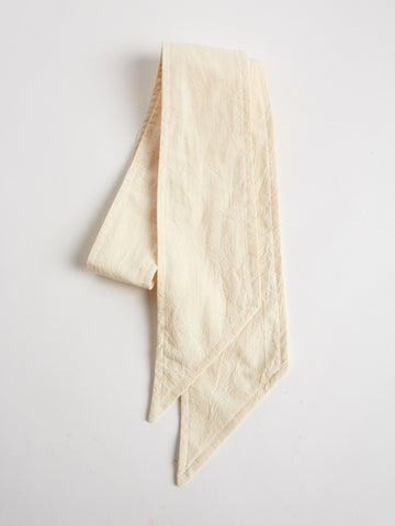 Cotton Scarf by The Arc- Cream