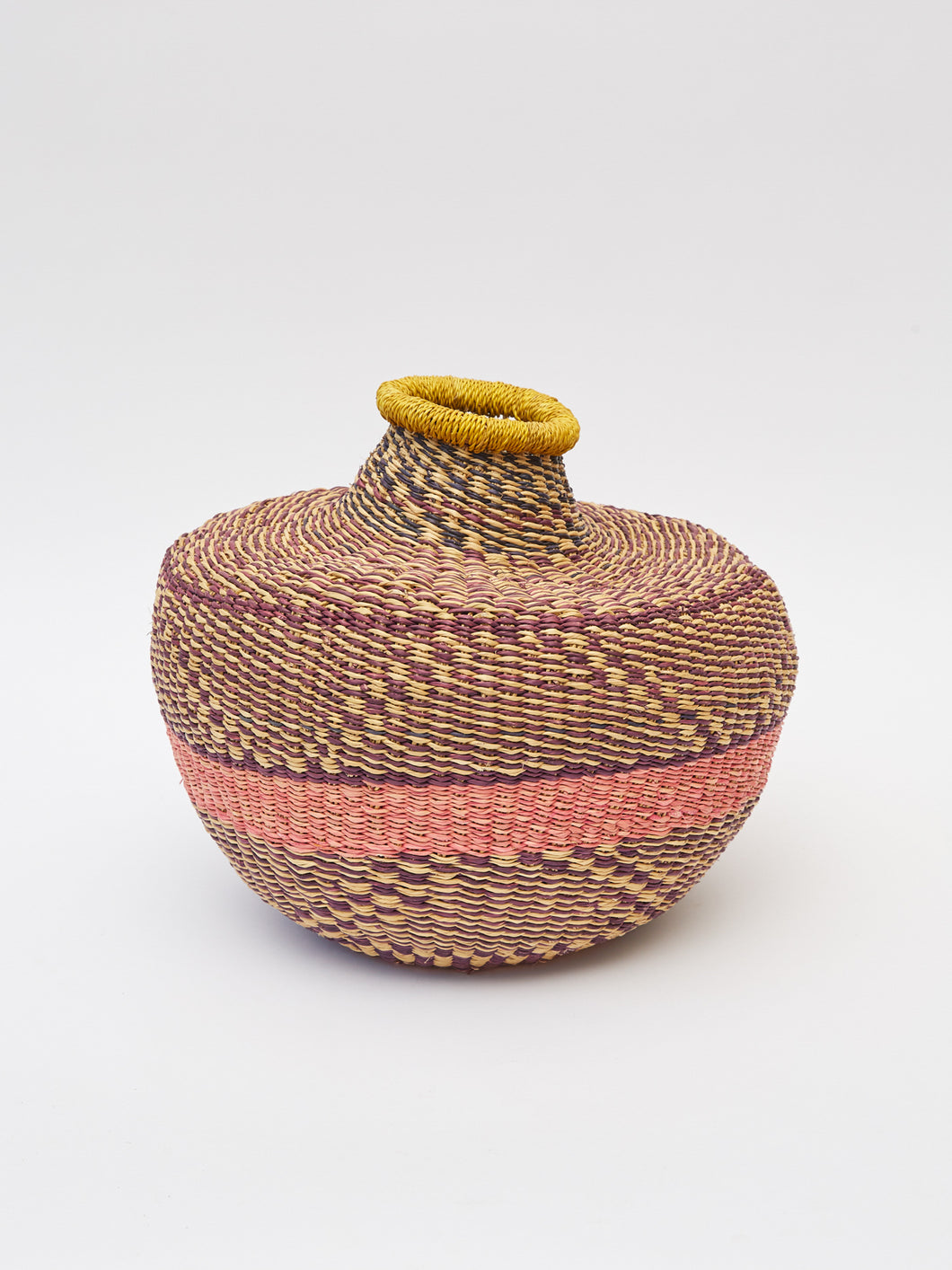 Grass Basket From Ghana-Small
