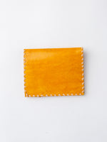 Lambskin Billfold Wallet In Yellow