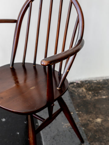 Mid-Century Walnut Her Chair