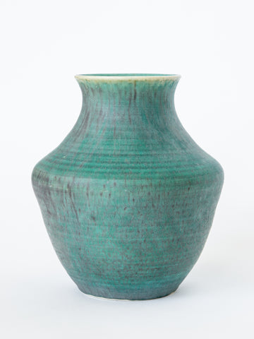 Ceramic Vase in Teal