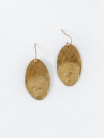 Marea Earrings in Bronze