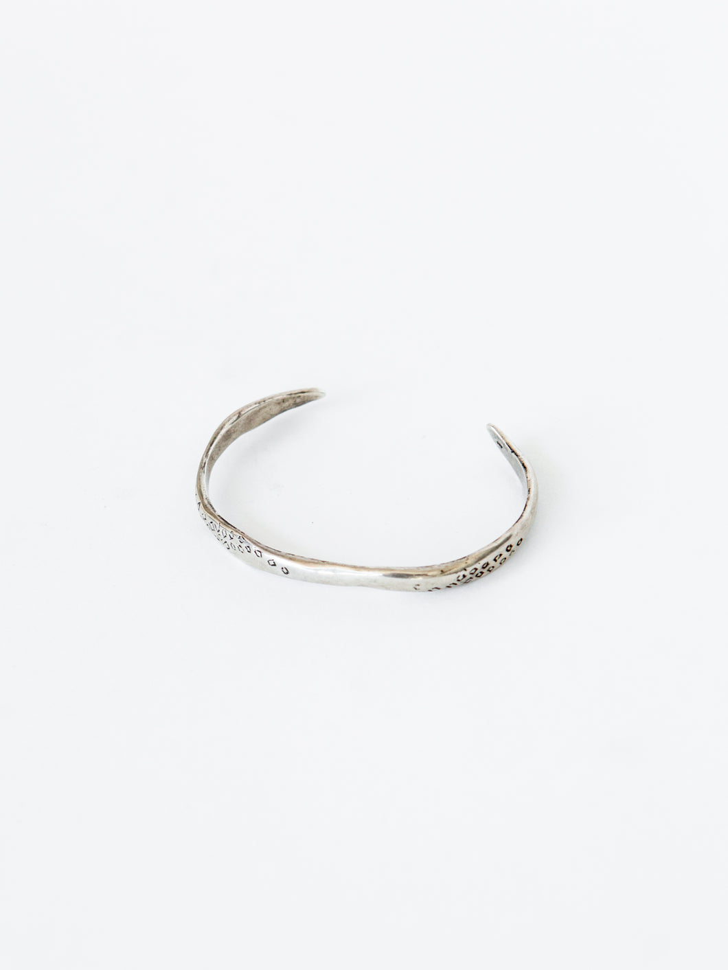 Sterling Silver Scales Cuff