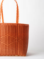 Palorosa Medium Tote Basket in Terracotta