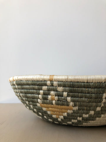 Jumbo Light Taupe Intore Basket