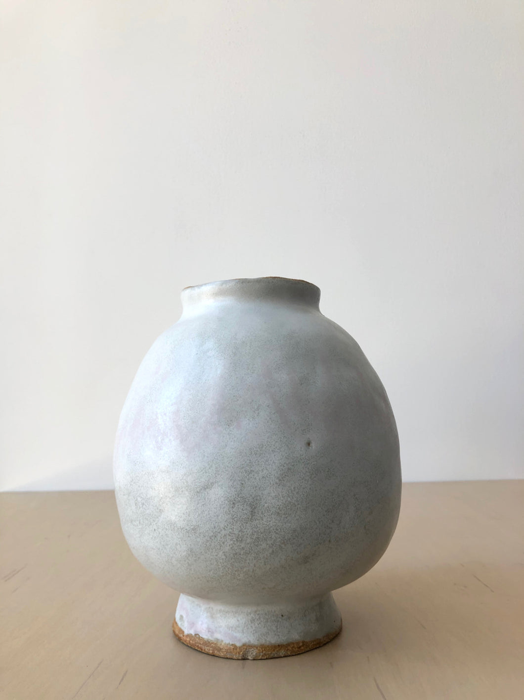 Simple Footed Vase