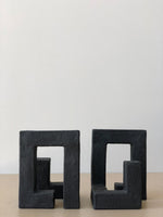 Pair of Marfa Bookends in Black