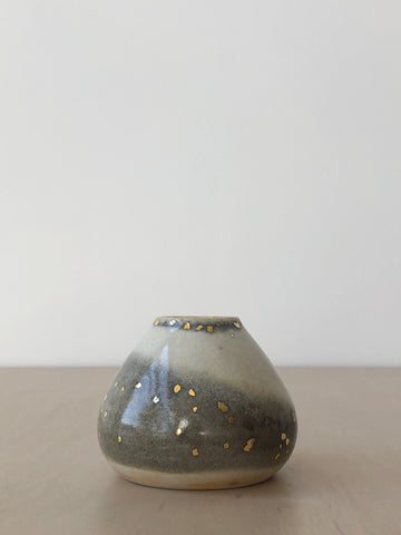 Stardust Bud Vase Collection in Soft Smoke
