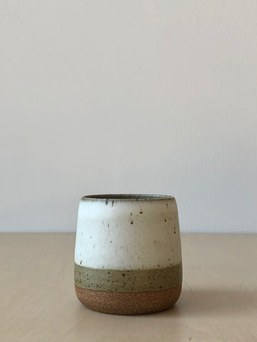 Speckled Glazed Ceramic Tumblers