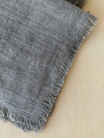 Stonewashed Linen Dinner Napkin in Oyster
