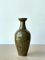 Vintage Studio Ceramic Vase in Speckled Olive