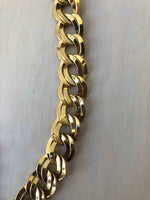 Vintage Gold Heavy Link Chain