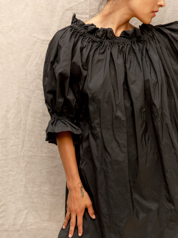 Black Taffeta Dress
