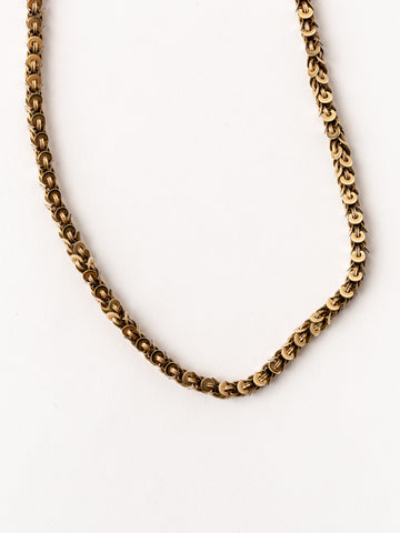 Victorian 10K Gold Chain Necklace