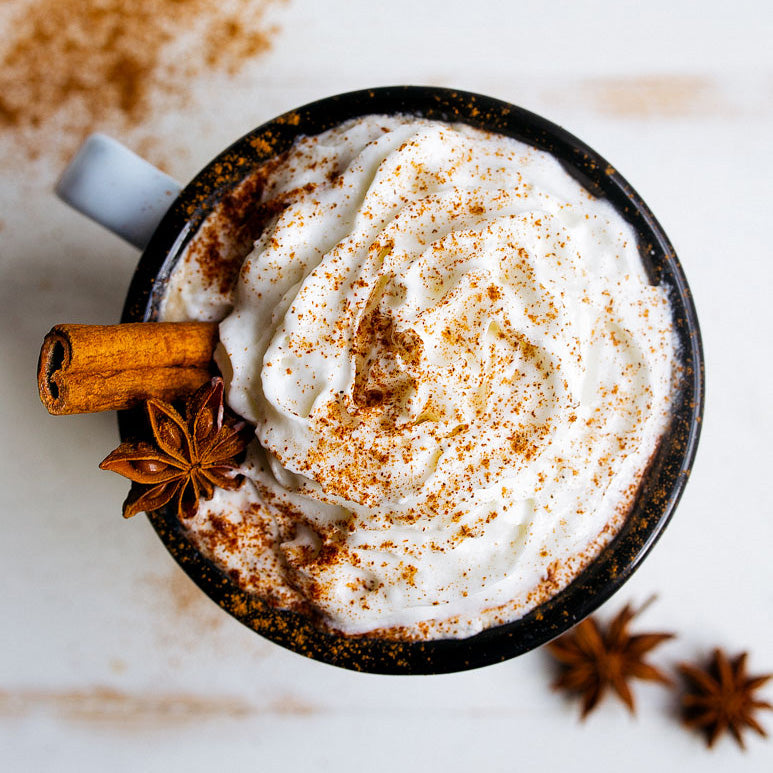 Homemade Vegan Pumpkin Spice Latte (PSL)
