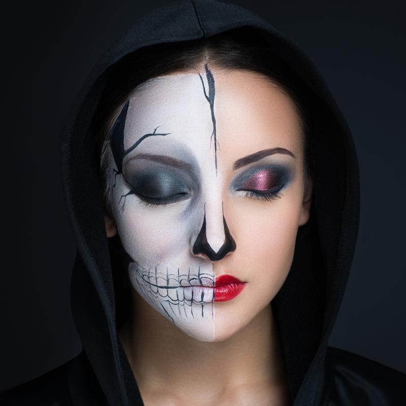 8 Last Minute Costumes Using Only Makeup