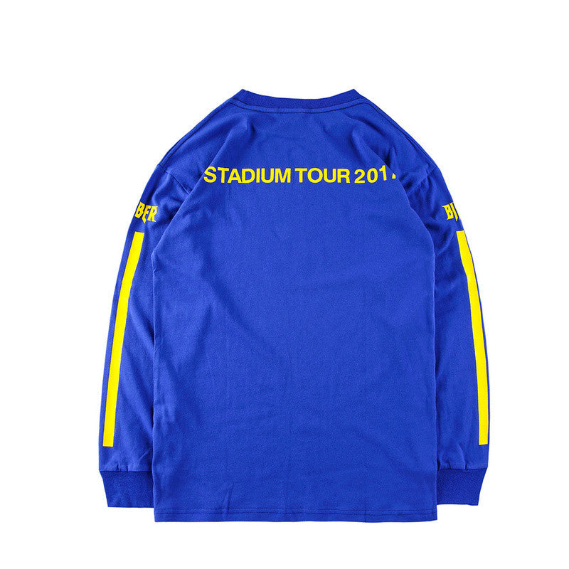JUSTIN BIEBER STADIUM TOUR LONG SLEEVE T-SHIRT