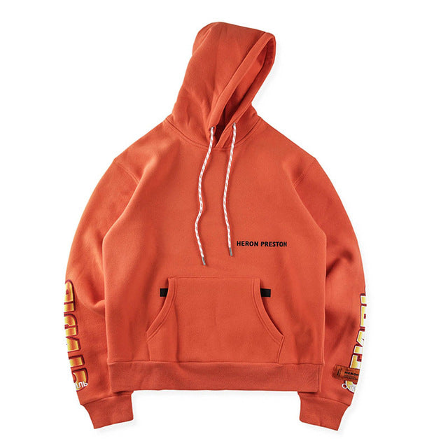 Heron Preston Red-crowned Hoodie